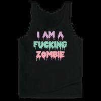 I Am A Fucking Zombie (Pastel)