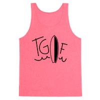 TGIF (Surfboard) (Neon)
