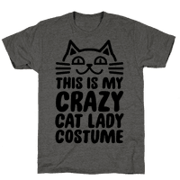 This is my Crazy Cat Lady Costume