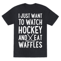 Watch Hockey Eat Waffles