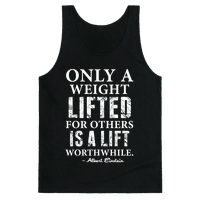 Only a Weight Lifted for Others is a Lift Worthwhile (Einstein Quote)