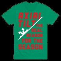 Axial Tilt Reason For The Season