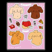 Dad Body Sticker