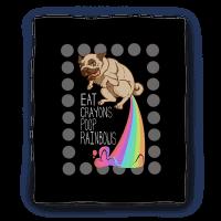 Eat Crayons Poop Rainbows Blanket