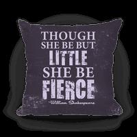 Little But Fierce Pillow