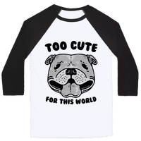 Too Cute for This World Pit Bull