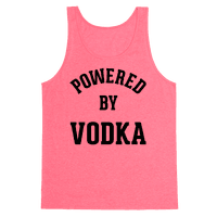 Powered By Vodka Tank
