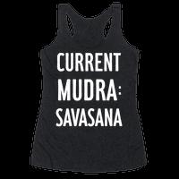 Current Mudra: Savasana
