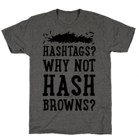 Hashtags? Why Not Hash Browns?