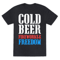Cold Beer, Fireworks, & Freedom