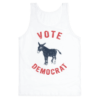 Vote Democrat (Vintage democratic donkey)