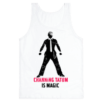 Channing Tatum Is Magic Tank