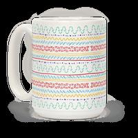 Yarn Pattern Mug