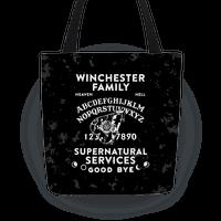 Winchester Family Ouija Board Tote