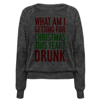 Getting Drunk For Christmas