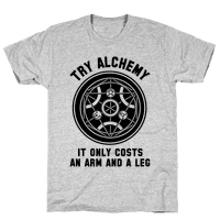 Alchemy It Only Costs an Arm and a Leg