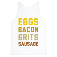 Eggs, Bacon, Grits, Sausage