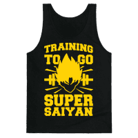 Training to Go Super Saiyan Tank