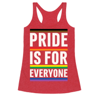Pride Is For Everyone White Print