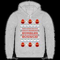 Yukon Cornelius and Bumble Ugly Sweater