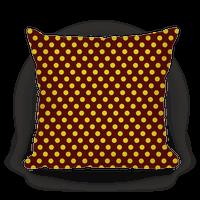 Gryffindor House Polka Dot Pattern