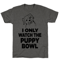 I Only Watch the Puppy Bowl
