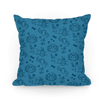 Doctor Who Pattern Toile Pillow Pillow