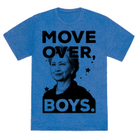 Move Over Boys ( HRC ) Tee