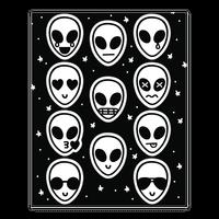 Alien Emoji Sticker