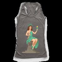 Lady Liberty Pin Up