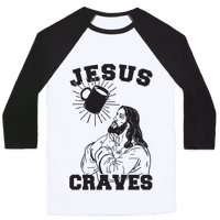 Jesus Craves Coffee Baseball