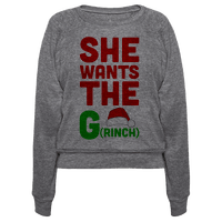 She Wants The G(rinch)