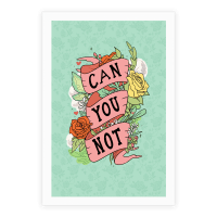 Can You Not Poster