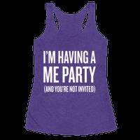 Me Party Racerback