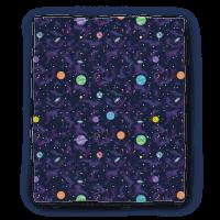 90s Cosmic Planet Blanket