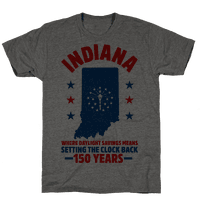 Indiana Where Daylight Savings Means Setting The Clock Back 150 Years