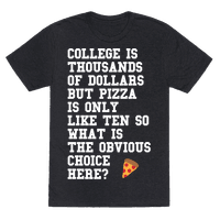 College Vs Pizza
