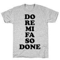 Do Re Mi Fa So Done