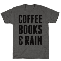 Coffee Books & Rain (Vintage)