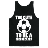 Too Cute To Be a Cheerleader (Soccer)
