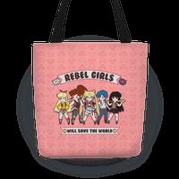 Rebel Girls Will Save The World Parody