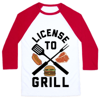 License To Grill Baseball