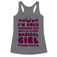 I'm Only Working Out Until My Latent Magical Girl Powers Kick In