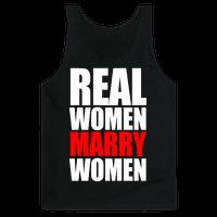 Real Women Marry Women Tank