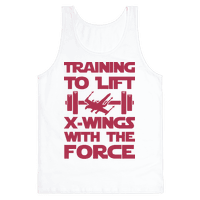 Training To Lift X-Wings With The Force