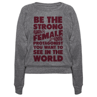 Be the Strong Female Protagonist You Want to See in the World