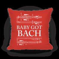 Baby Got Bach Pillow