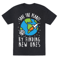 Save The Planet By Finding New Ones