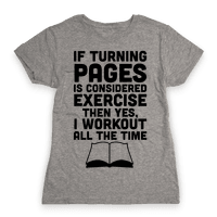 If Turning Pages Is Considered Exercise