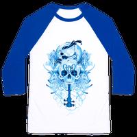 221B Watercolor Sherlock Skull